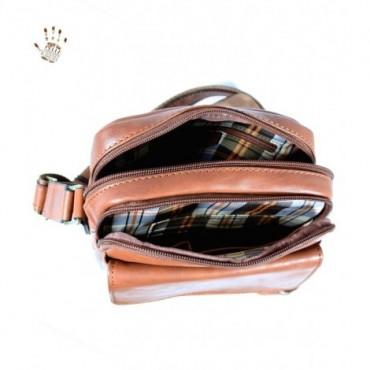"Leather Man bag ""Peretti"""