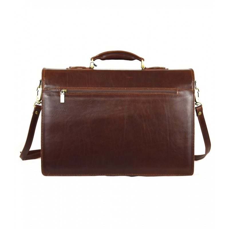 """Leather Man briefcase """"Buttero"""""""