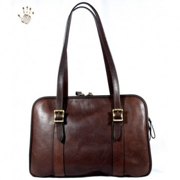 "Leather Lady bag ""Fiora"""