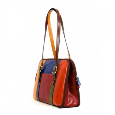 "Leather Lady bag ""Fiora""..."