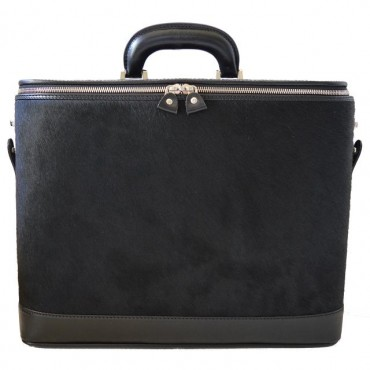 """Leather briefcase """"..."""