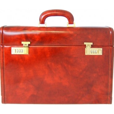 """Leather conventions attach case """"Ghirlandaio"""" K215P"""