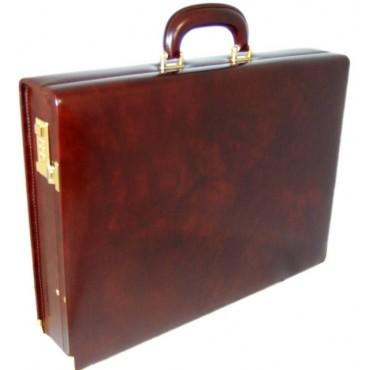 "Leather 24h briefcase ""Machiavelli"""