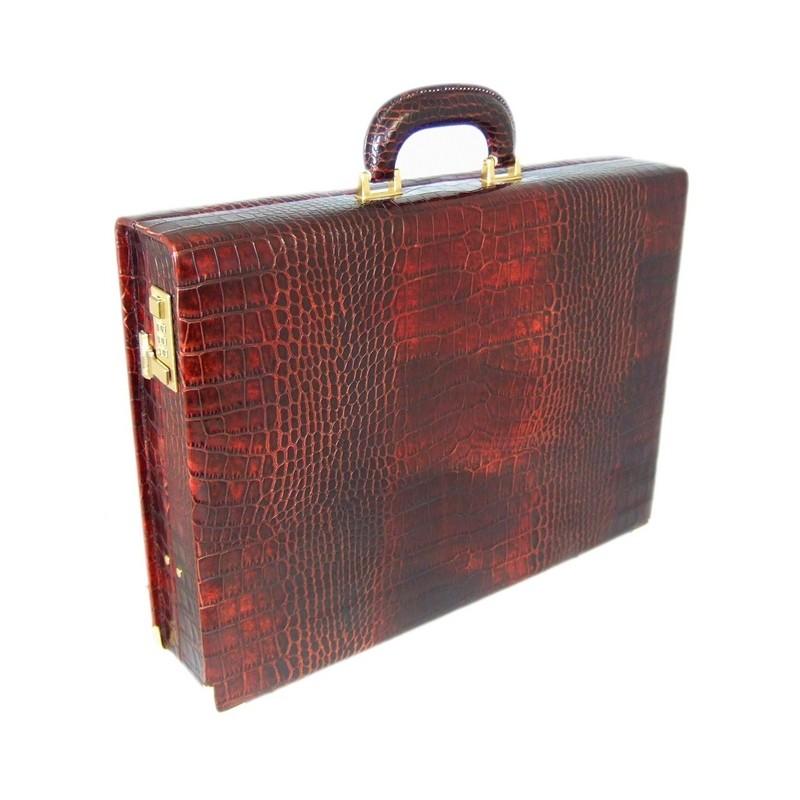 """Leather attach case 24h """"Machiavelli"""" K 317/9"""