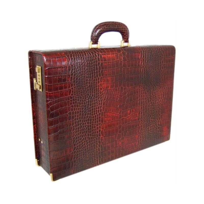 """Leather attach case 48H """"Machiavelli"""" K 317/10D"""
