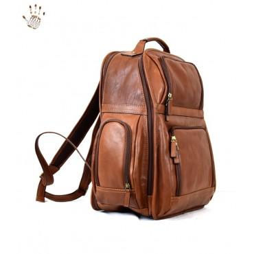 """Leather Backpack """"Santacroce"""""""