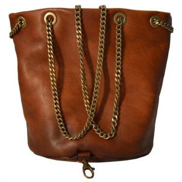 """Leather Lady bag """"Pienza"""" big"""