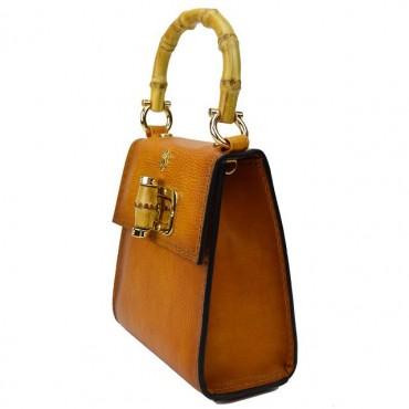 "Leather Lady bag ""Castalia"""