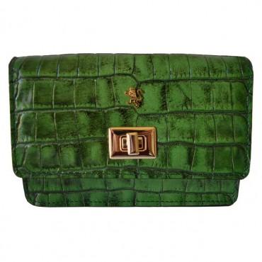 "Leather Lady bag ""Le Sieci"""
