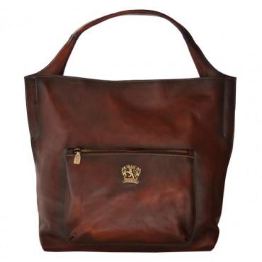 "Leather Lady bag ""Donnini""..."