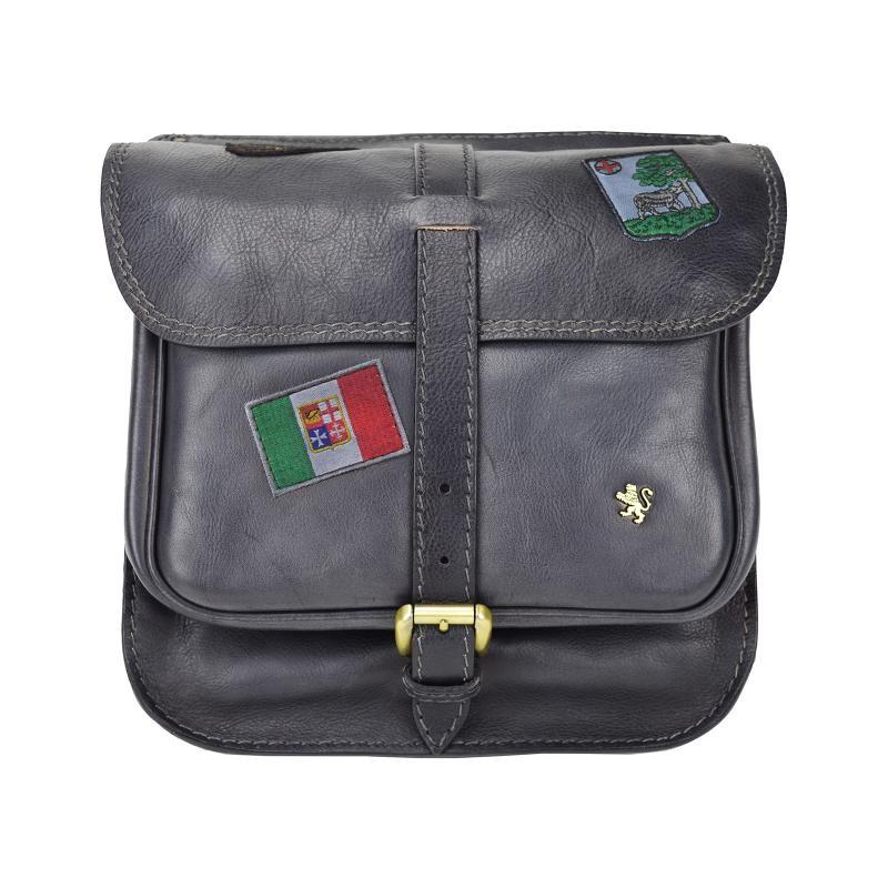 "Leather Man bag ""Bisaccia"" B135"