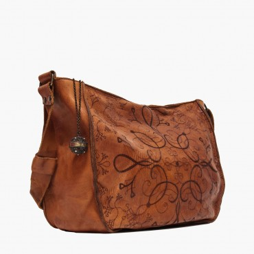 "Leather Lady bag ""La Laserata"""