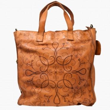 "Leather Lady bag ""Shopper"""