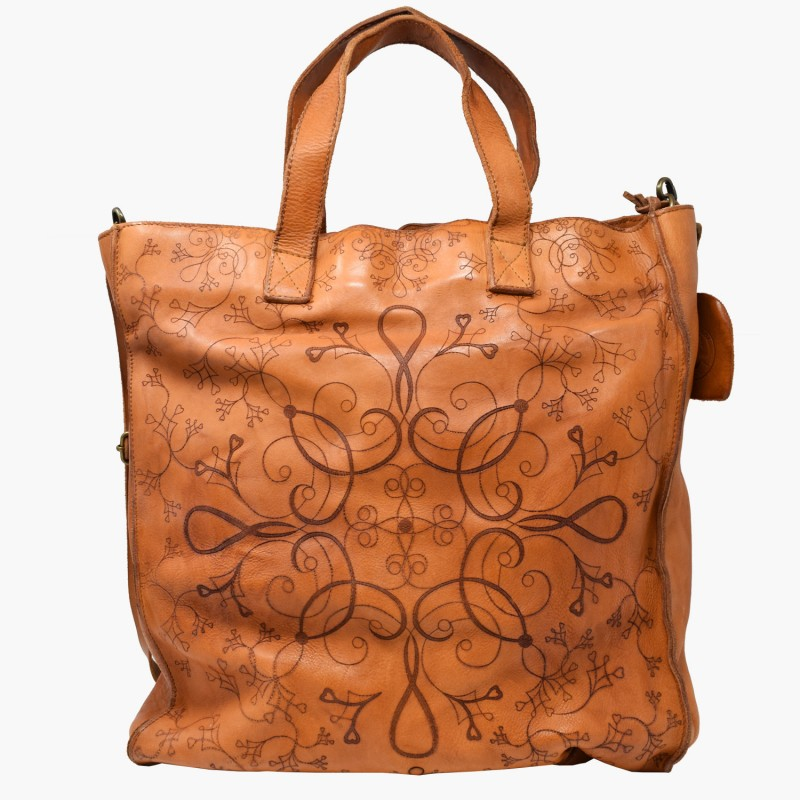 "Borsa donna in pelle ""Shopper"""