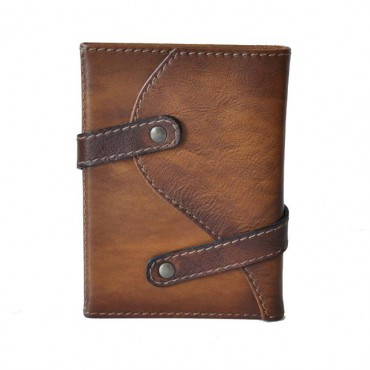 Leather block notes holder