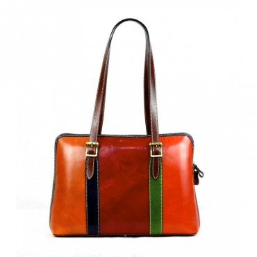 "Leather Lady bag ""Amiata"""