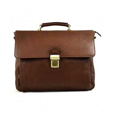 Leather Briefcase woman...