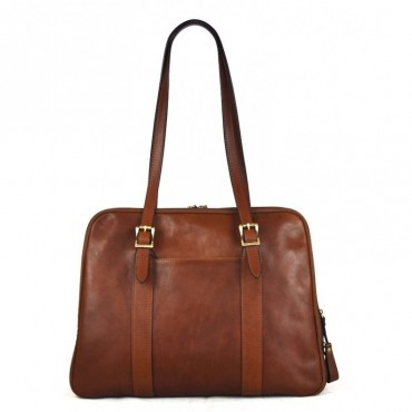 "Leather Lady bag ""Rocchette"""