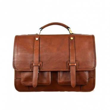 Leather backpack Briefcase...