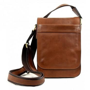 "Leather Man bag ""Banditella"""