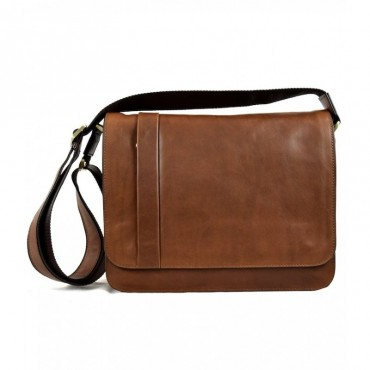"Leather Man bag ""Bisenzio"""