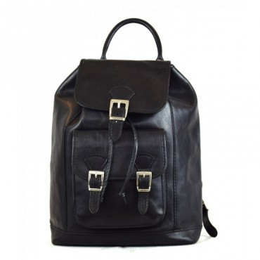 "Leather Backpack ""Amelia"""