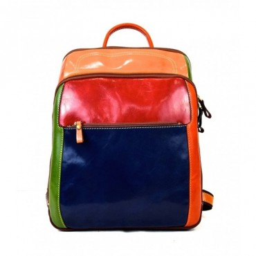 """Leather backpack """"Appia..."""