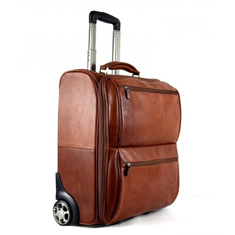 "Leather Trolley ""Montecucco"""