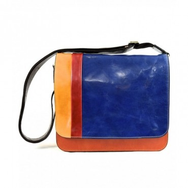 "Leather Man bag ""Bisenzio""..."