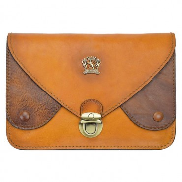 "Leather pochette ""Borgo San..."