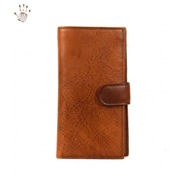 "Leather Woman Wallet ""Manuela"""