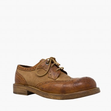 "Leather men shoes""Coda di..."
