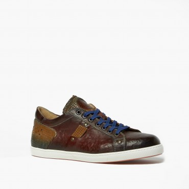 Leather Man Sneaker...