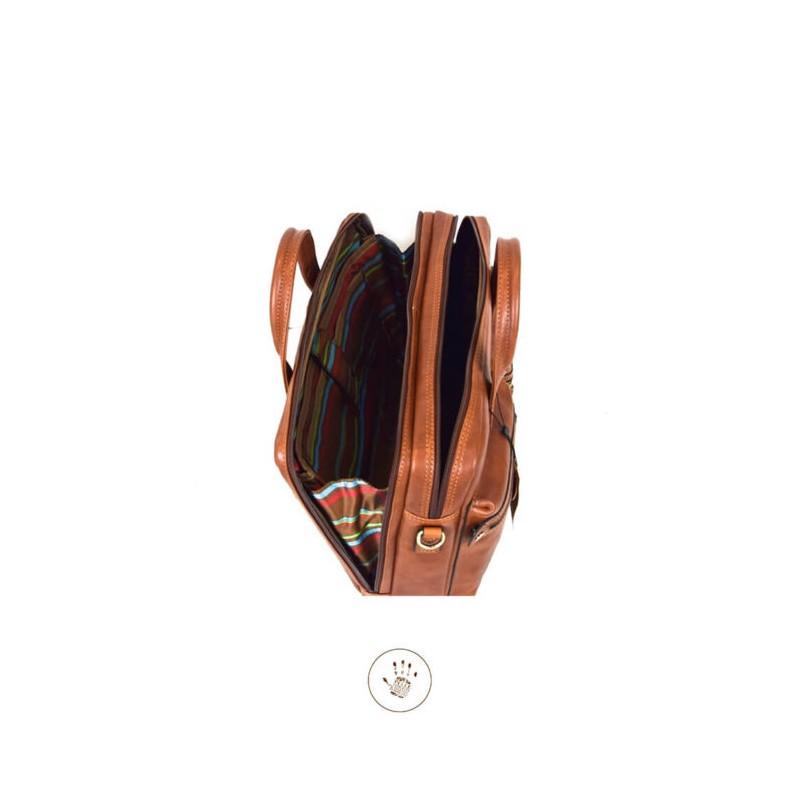 "Leather Man Briefcase ""Orbetello"""