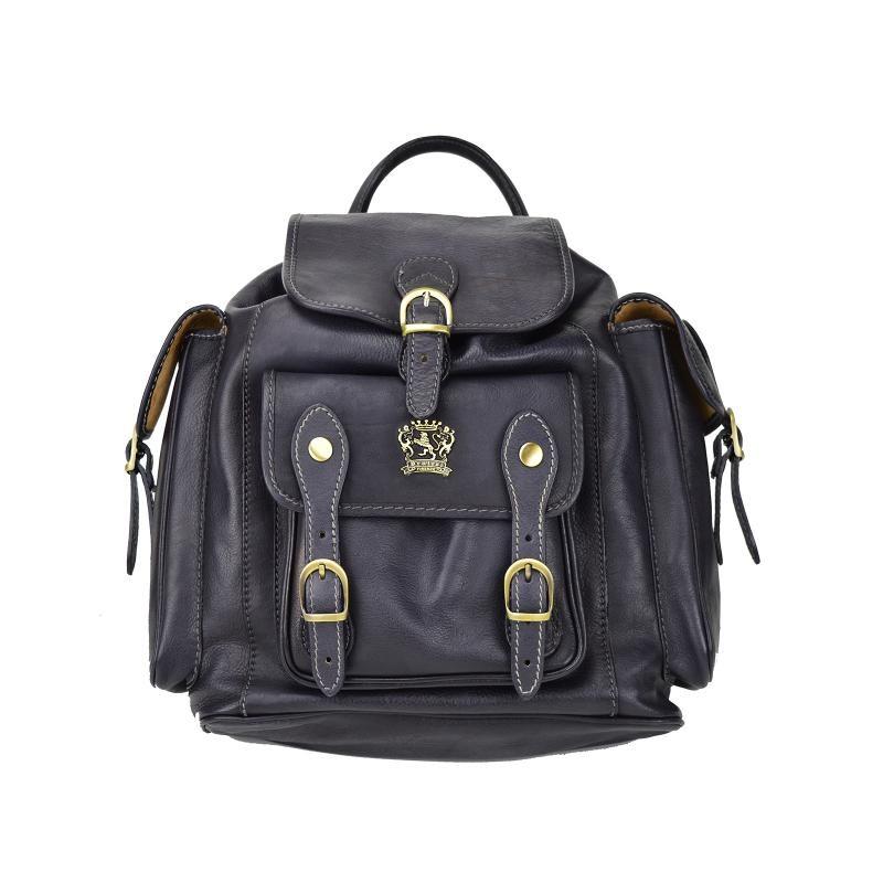 "Leather Backpack ""Montalbano"" B346"
