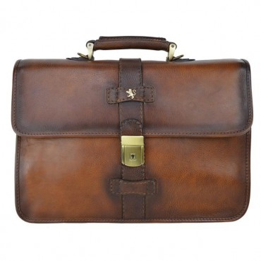 """Leather Briefcase """"Anghiari"""""""