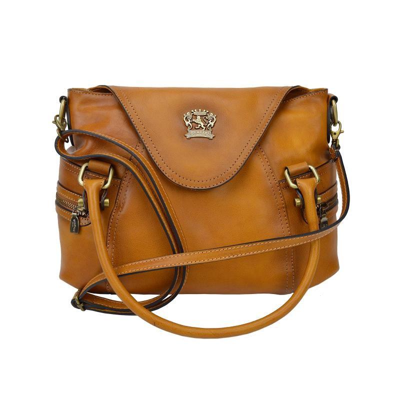 "Leather Lady bag ""Rincine"""