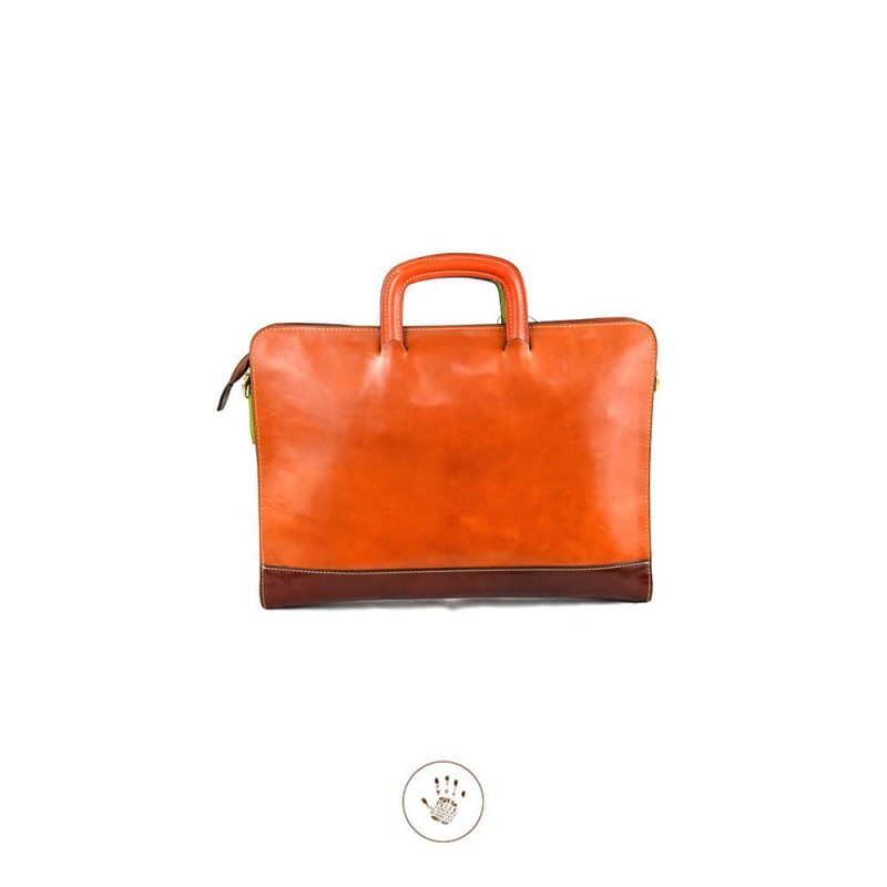 """Leather Briefcase woman """"Giannella"""""""