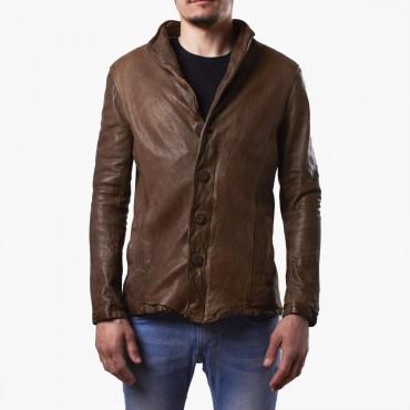 """Leather man jacket """"Bottoni"""" BM"""