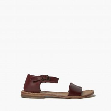 """Leather woman sandal """"Minerva"""""""