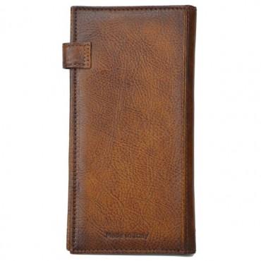 "Leather Man wallet ""Fiorino d'oro"""