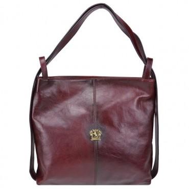 "Leather Lady bag ""Rosano"" B476"