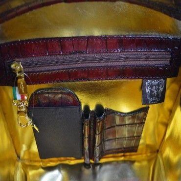 """Leather Lady bag """"Miss Brunelleschi"""" K120/29"""