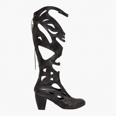 """Leather Woman boot """"Intaglio"""""""