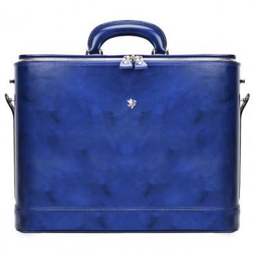"""Leather briefcase """"Raffaello"""" R116-17"""