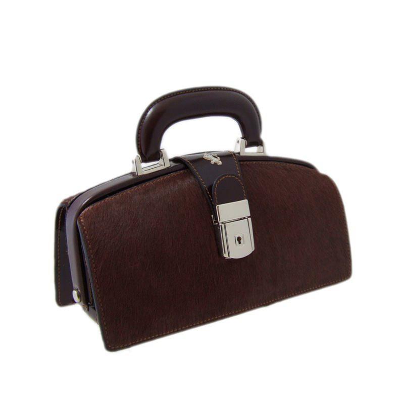 "Leather Lady bag ""Lady Brunelleschi"" C120N"