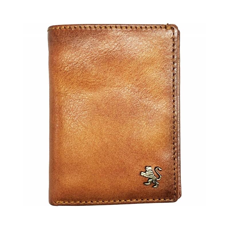 "Leather Man wallet ""Galleria Corsini"""