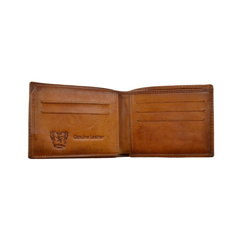 "Leather Man Wallet ""Cappelle Medicee"""