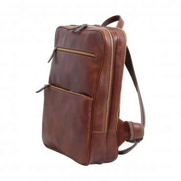 """Leather backpack """"Baltico..."""