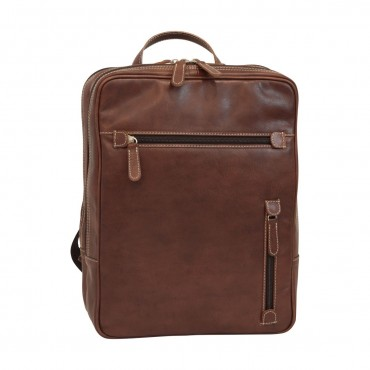 """Leather backpack """"Pulawy"""" BR"""